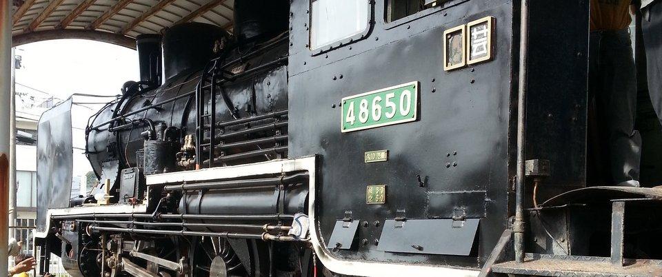 蒸気機関車だよ